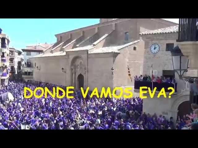 Tamborrada y bombos de Calanda-Teruel en Semana Santa. Tradiciones de España  2ª parte