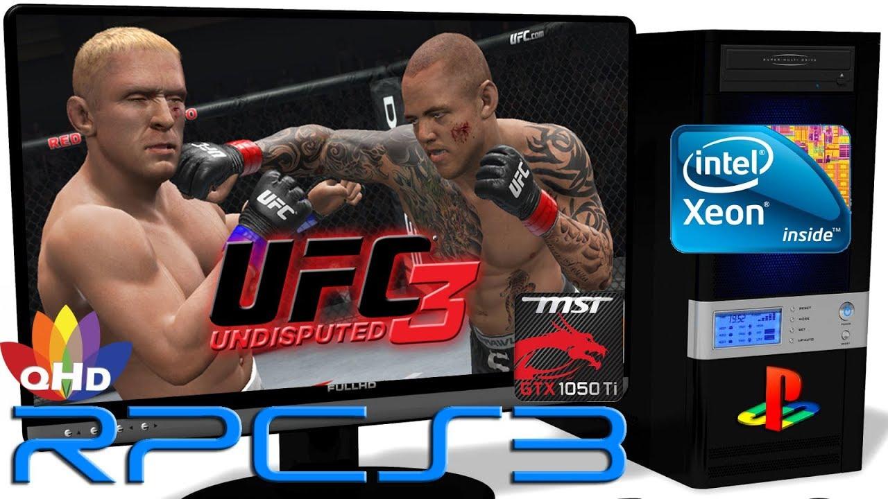 RPCS3 0.0.6 [PS3 Emulator] - UFC Undisputed 3 [Gameplay ... Ufc Undisputed 3 Ps3 Rom