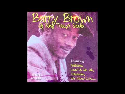 Barry Brown at King Tubby's Studio (Full Album)