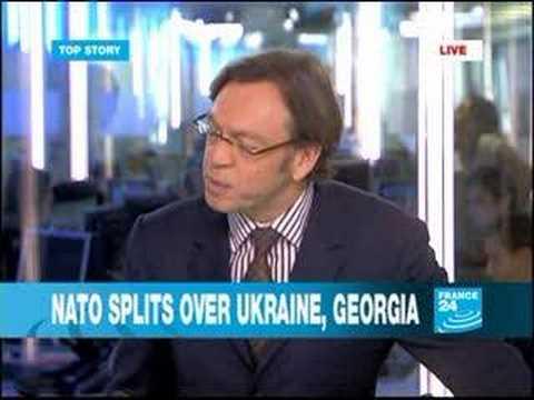NATO split over Ukraine, Georgia