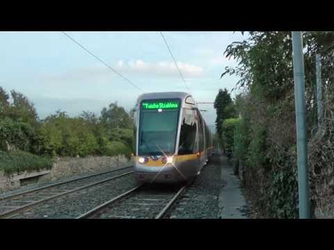 Trams in Dublin 2013-09-27 50fps