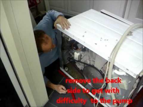 aeg waschmaschine pumpe wechseln doovi. Black Bedroom Furniture Sets. Home Design Ideas