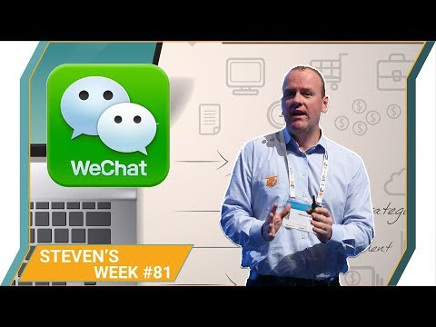Steven's week 81: Amazon moving into financial service, WeChat coming to US/Europe
