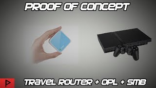 Proof of Concept - TP-Link Travel Router Loading PS2 Games Using OPL and USB/SMB