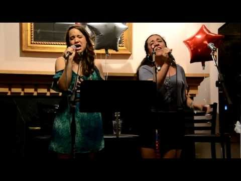 "Emily Spadaford and Brooke Benedetto singing ""Let ..."