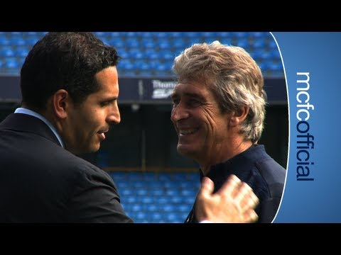 INSIDE CITY 88 - Khaldoon Al Mubarak visits training
