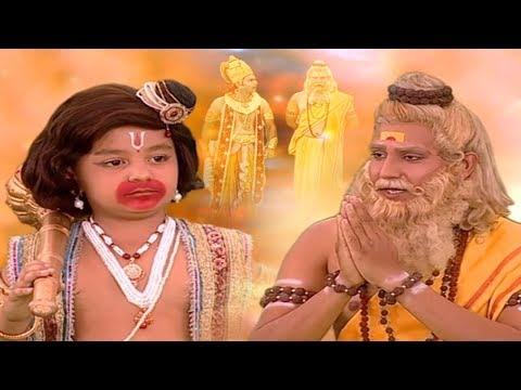मेरे पिता को प्राण घातिनी शक्ति लगी है मै अपने पिता जीवन रक्षा के लिए आया हूँ - Jai Jai Bajrangbali