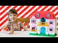 Let's play Dollhouse! ★ Keenway home Sweet home ★ Playhouse set for girls ★ My happy family