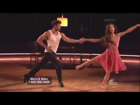 Maksim Chmerkovskiy & Meryl Davis dancing Rumba on DWTS 5 5 14