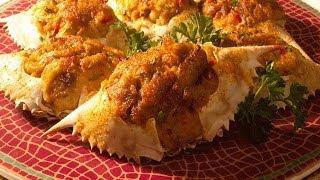Stuffed Crab Recipe - Aaha Emi Ruchi
