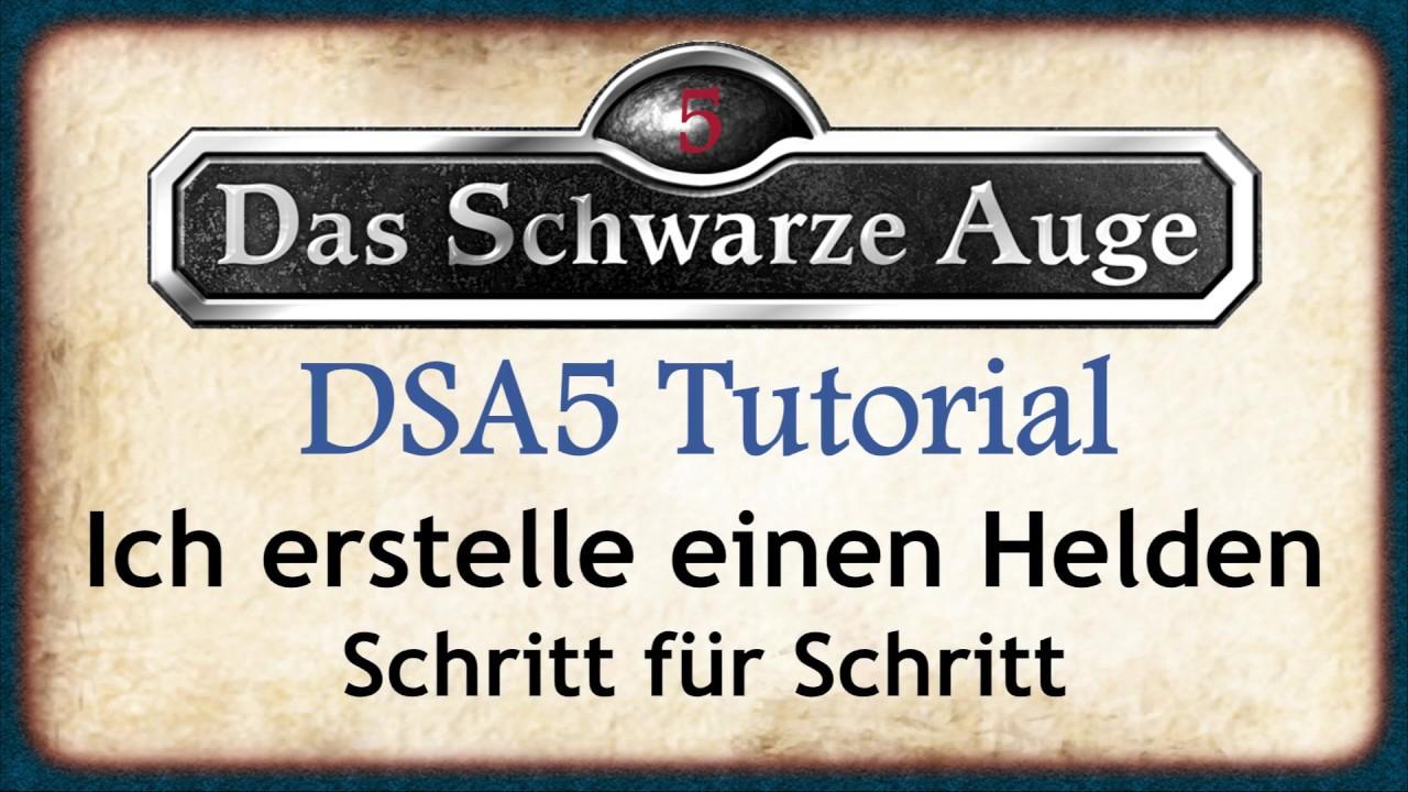 DSA 5 Charakter erstellen Tutorial - ich erstelle einen DSA5 Helden Schritt für Schritt