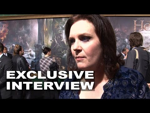 The Hobbit: The Battle of the Five Armies: Philippa Boyens Exclusive Premiere