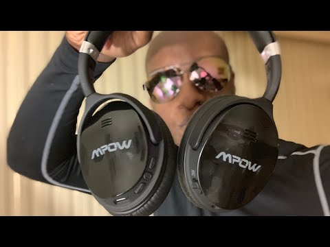 40303656586 MPOW H5 - $40 Wireless Noise Cancelling BeastsSo MPOW Sent me their H5  Noise cancelling headphones so tonight I unbox them and give you my