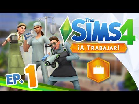 Los Sims 4 ¡A Trabajar! - Parte 1 | ALIENS, ROPA Y PRIMERAS IMPRESIONES | Gameplay en español