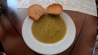 Αγιορείτικη σούπα με άγρια σπαράγγια και αμβρωνιά-Mount Athos soup with wild asparagus and avronia