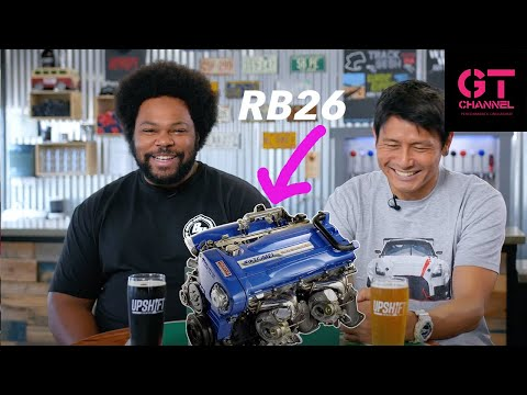 RB26 Iconic Nissan Powerplant - Special JDM Video Review with Gary & Taro
