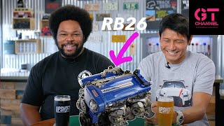 video thumbnail of RB26 Iconic Nissan Powerplant - Special JDM Video Review with Gary & Taro
