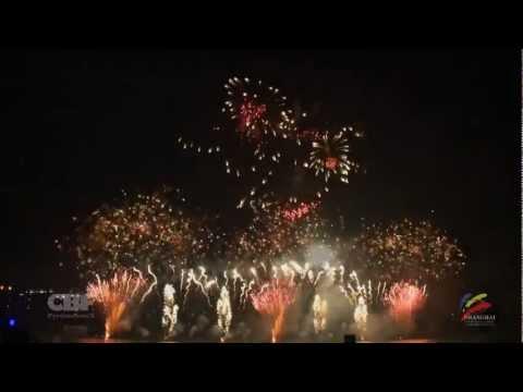 Shanghai Fireworks Festival 2012 - Belgium - CBF Pyrotechnics HD