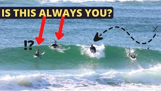 HOW TO CATCH MORE WAVES IN CROWDED SURF (without annoying anybody)