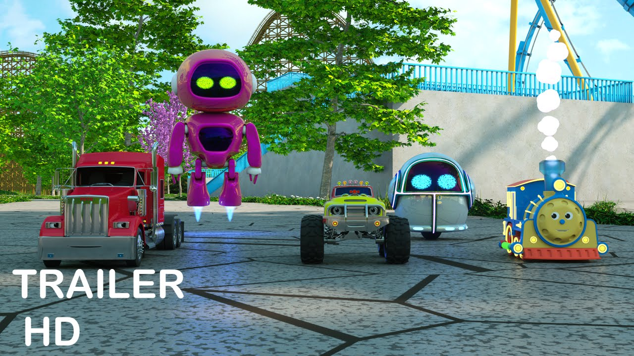 Adventure at the Amusement Park with Max the Glow Train and Friends - Trailer -  TOYS