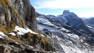 Origin of a mountain river - Swiss Alps