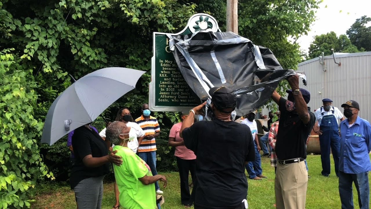 Download Marker unveiled to honor 2 killed by Klan in 1964
