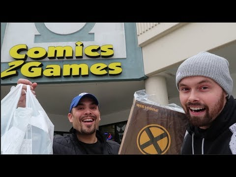 EPISODE 53 - TOY HUNTING WITH CINCY NERD AT COMICS 2 GAMES! NECA FIGURES, MEZCO, NEW MARVEL LEGENDS!