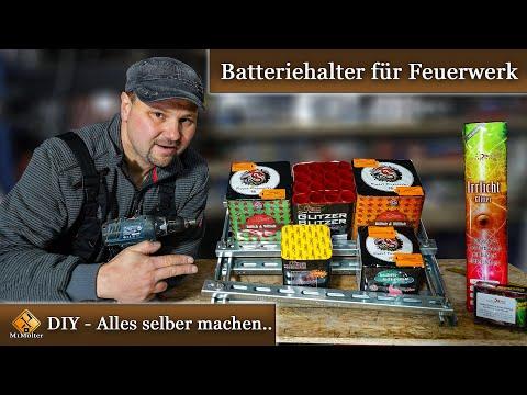 Abschussvorrichtung für Feuerwerksbatterien selber bauen.