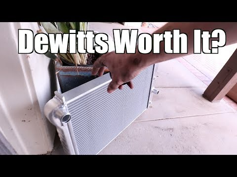 C5 Corvette Dewitts Radiator Install and Results