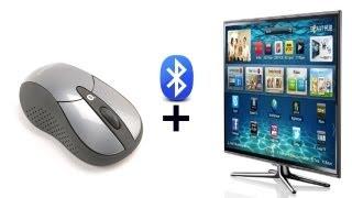 How to connect bluetooth mouse to Samsung 3D Smart TV. Русский язык.(Всем привет! Рассмотрим как подсоединить bluetooth mouse Dicota Bluelight к 3D Smart TV телевизору Samsung, а так же краткое опис..., 2013-01-12T21:49:51.000Z)