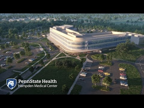 Penn State Health Hampden Medical Center Groundbreaking
