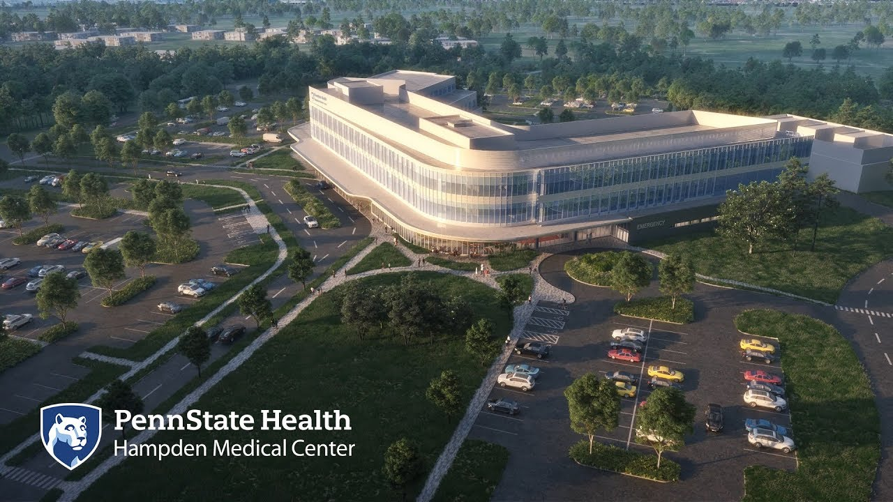 Penn State Health breaks ground on third adult acute care