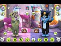 My talking Tom level 39-41 VS My talking Tom level 42-44 makeover for Kid. Ep.13_iGamebox