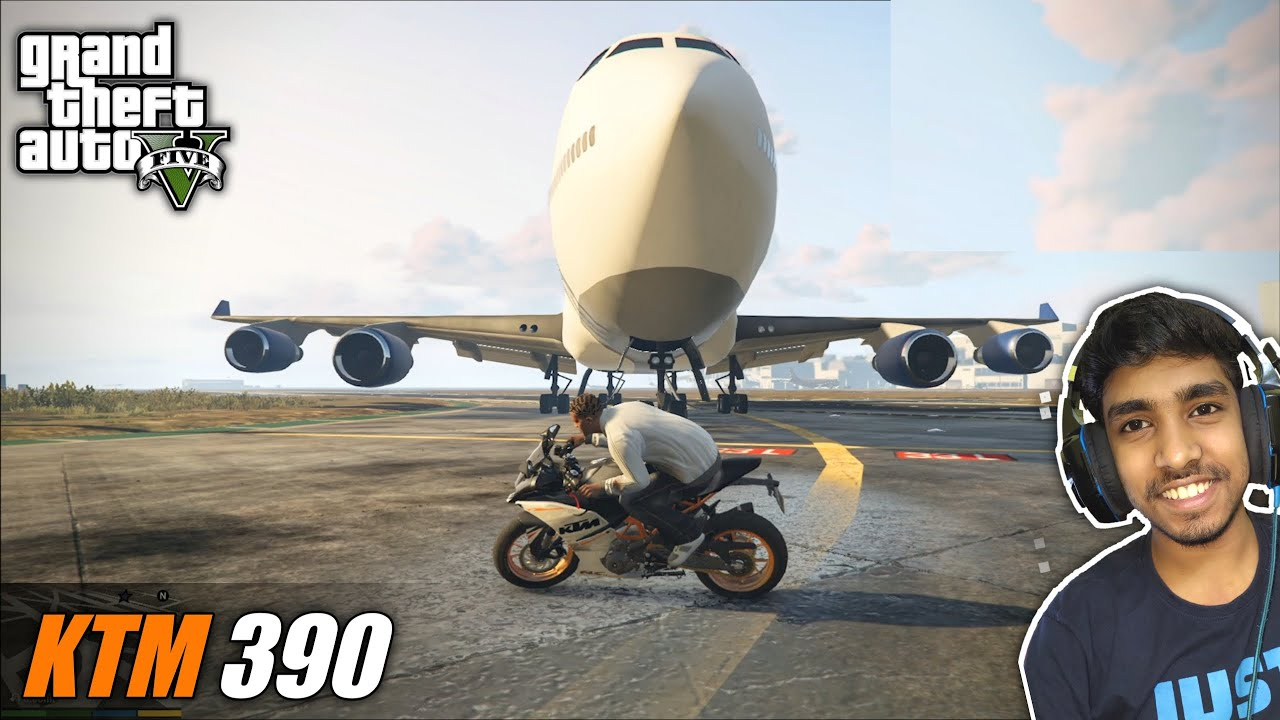 IMPORTING KTM RC 390 FROM INDIA & THIS HAPPENED ! | GTA V GAMEPLAY #3