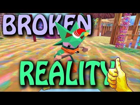 Lisa Frank Acid Internet World: Broken Reality   2 Girls 1 Quick Look