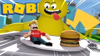EATEN BY A HUNGRY PIKACHU! Roblox