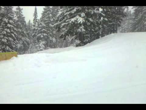 Mt. Bachelor Parks, Travis Seaton, Boardslide