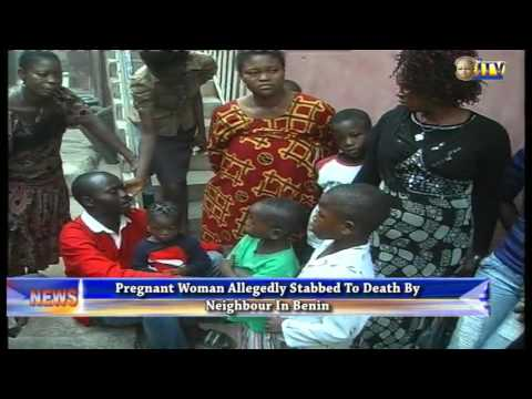Video: Pregnant Woman Stabbed To Death By Neighbour In Benin Over N1000 Loan