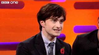 daniel radcliffe sings the elements   the graham norton show   series 8 episode 4   bbc one
