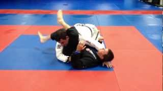 Watts Jiu Jitsu John Wade Inverted Triangle from side Contr