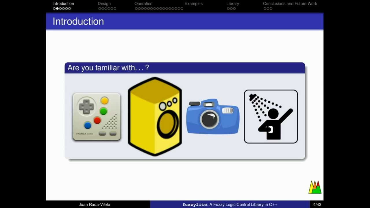 FuzzyLite | The FuzzyLite Libraries for Fuzzy Logic Control