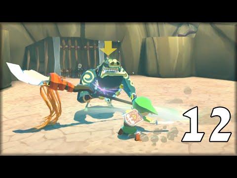 The Legend of Zelda Wind Waker HD Capítulo 12 - Link se quema mucho XD