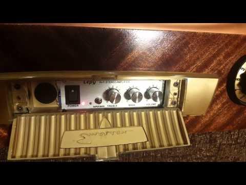 Vintage TV Bar, Wired for Sound!