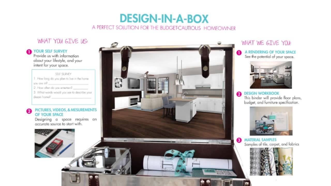 Design In A Box By San Diego Interior Designer DarcyK