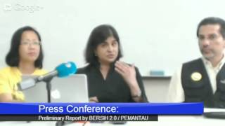Press Conference: Preliminary Report by PEMANTAU