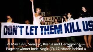 U2 - Bono Brian Eno Pavarotti - Miss Sarajevo Live from Modena 1995