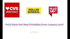 New Printables from coupons.com! Print/Save as PDF Now!