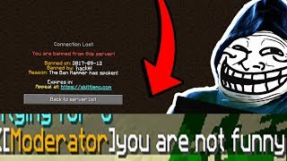 TROLLING HYPIXEL STAFF ON SKYPE *WE GOT BANNED* (Minecraft Trolling)