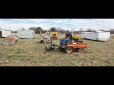 Ditch Witch 255SX vibratory plow for sale | no-reserve Internet auction  March 29, 2017
