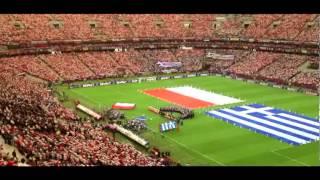 Euro 2012 mecz Polska Grecja HYMN